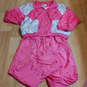 Vintage 80's Causal Isle track suit set Halloween